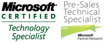 Microsoft Certified Technology Specialist / Pre-Sales Technical Specialist